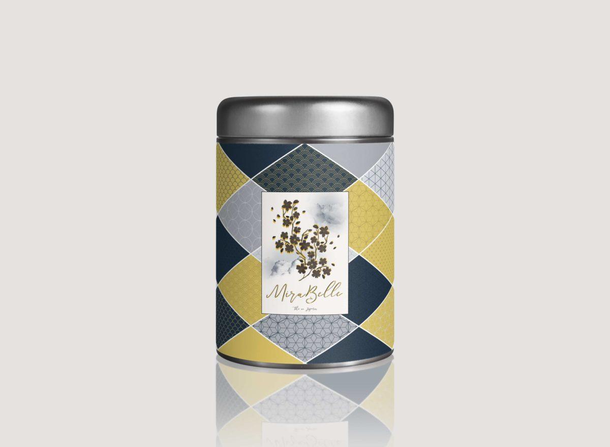 Packaging boite de thé